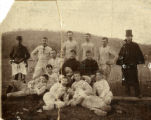 Harriman's first football team, 1891