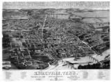 1886 Bird's-eye view of Knoxville