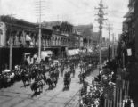 Spanish American War veterans parade