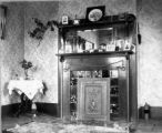 Hall.  Parlor, J.S. Hall house, 1895.
