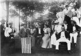 Kennedy.  Elizabeth Kennedy party, July 4, 1895.